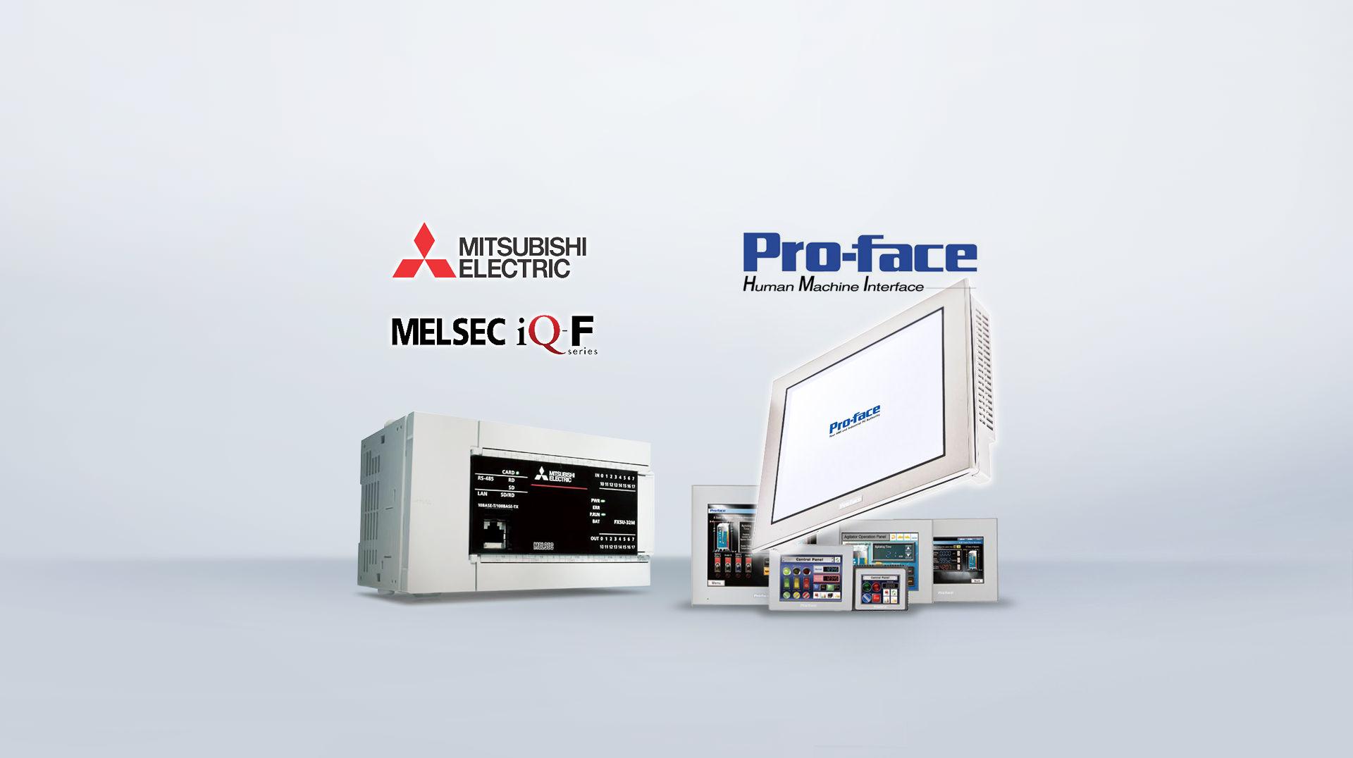 Pro-face 普羅菲司+三菱電機 Mitsubishi Electric